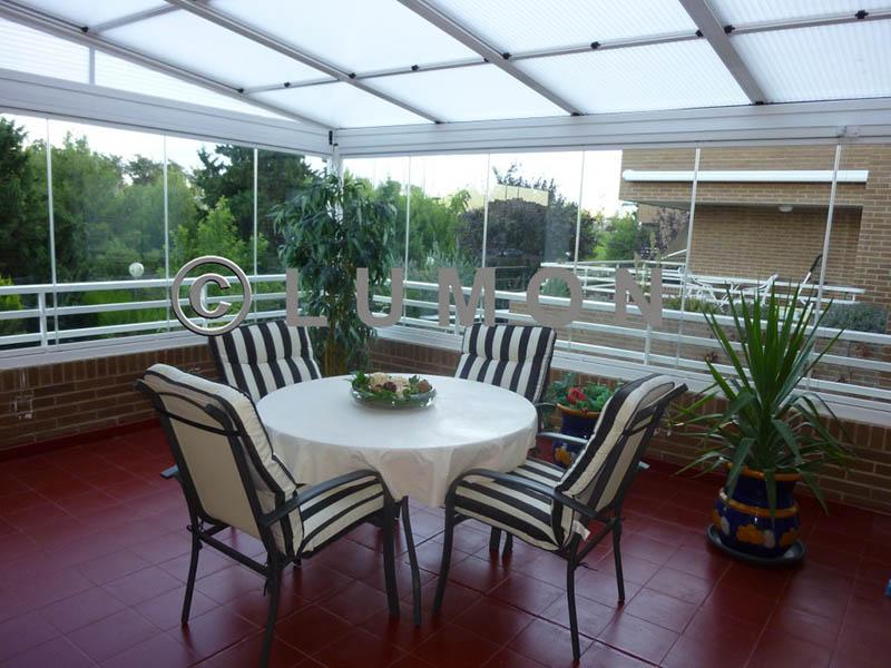 Techo corredizo para patio awesome affordable techo - Techos corredizos para patios ...