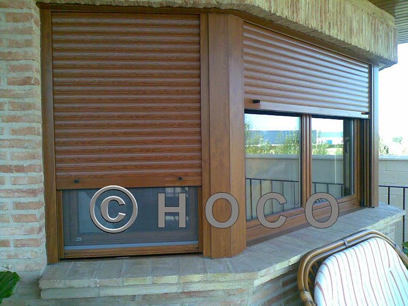 Ventanas pvc imitacion madera stunning puerta de entrada for Ventanales de aluminio imitacion madera